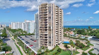 Fort Lauderdale Condo For Sale: 2701 Ocean Boulevard Boulevard #5b