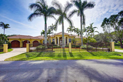 Plantation Single Family Home For Sale: 12380 NW 14 Street