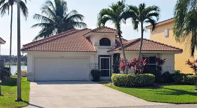 Coconut Creek Single Family Home For Sale: 3670 Coco Lake Drive