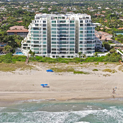 Palm Beach County Condo For Sale: 2494 S Ocean Boulevard #E3