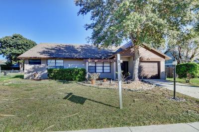 Lake Worth, Lakeworth Single Family Home For Sale: 8285 Whitewood Cove E