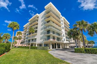 Palm Beach Condo For Sale: 3460 S Ocean Boulevard #312