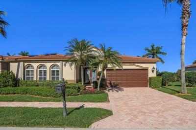 West Palm Beach Single Family Home For Sale: 10736 Waterford Place