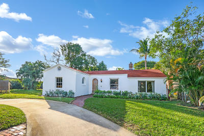 West Palm Beach Single Family Home For Sale: 920 Ortega Road