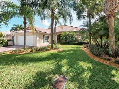 Palm Beach Gardens FL Single Family Home For Sale: $674,900