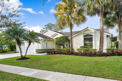 Jupiter Single Family Home For Sale: 18601 Misty Lake Drive