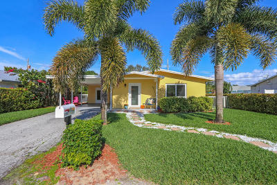 North Palm Beach Single Family Home For Sale: 1939 Circle Drive