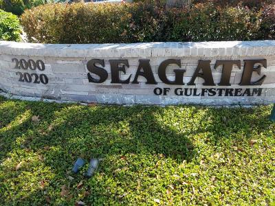 Boynton Beach Rental For Rent: 2000 S Federal Highway #205