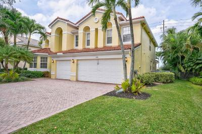 Jupiter Single Family Home For Sale: 344 Kingfisher Drive