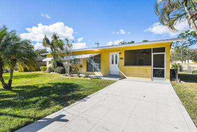 Jupiter Single Family Home Contingent: 708 Iroquois Street
