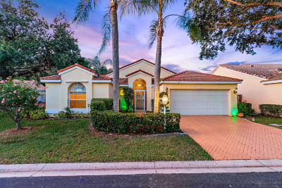 Palm Beach Gardens Single Family Home For Sale: 10128 Caoba Street