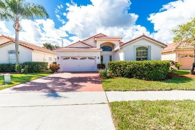 Boynton Beach Single Family Home For Sale: 12391 Sand Wedge Drive Drive