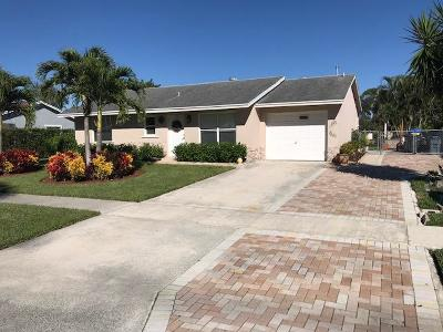 Lake Worth Single Family Home For Sale: 4573 Carthage Cir S