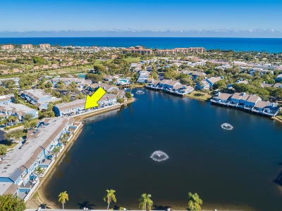 Jupiter Townhouse For Sale: 1519 Ocean Dunes Circle