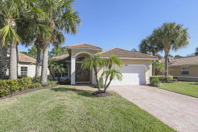 Port Saint Lucie Single Family Home For Sale: 7653 Greenbrier Circle