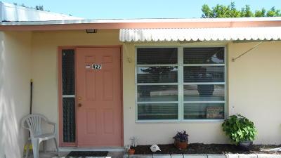 Stuart Rental For Rent: 427 SE Parkway Drive
