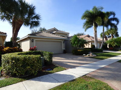 Delray Beach Single Family Home For Sale: 6920 Viale Elizabeth