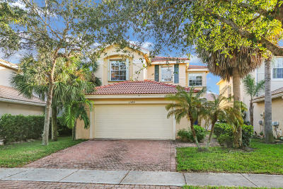Royal Palm Beach Single Family Home Contingent: 11480 Blue Violet Lane