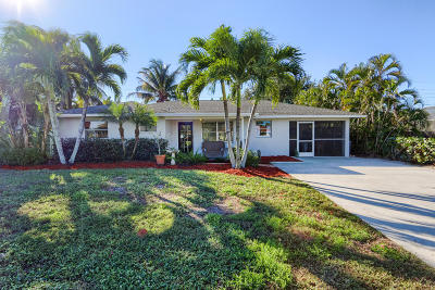 Jupiter Single Family Home For Sale: 20 Windsor Road E