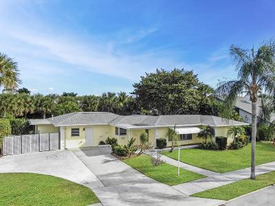 Lake Worth Single Family Home For Sale: 2412 Lakeside Drive