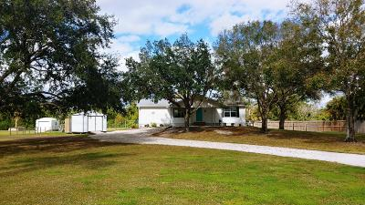 Jupiter Single Family Home For Sale: 9223 154th Road