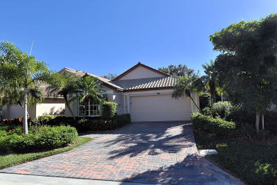 Palm Beach Gardens FL Single Family Home For Sale: $464,000