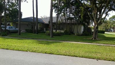 Wellington Single Family Home For Sale: 12370 Sawgrass Court