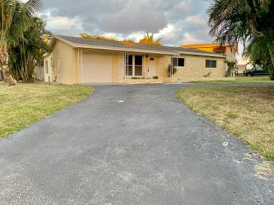Boynton Beach Single Family Home For Sale: 345 SW 10th Avenue