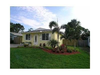 Delray Beach Single Family Home For Sale: 5188 Washington Road