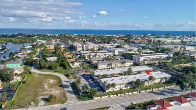 Boynton Beach Condo For Sale: 600 Snug Harbor Drive #A14