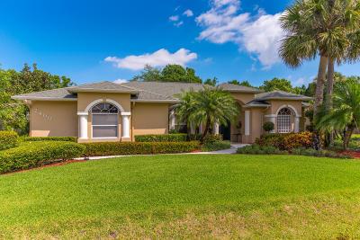 Fort Pierce Single Family Home For Sale: 2400 Winding Creek Lane