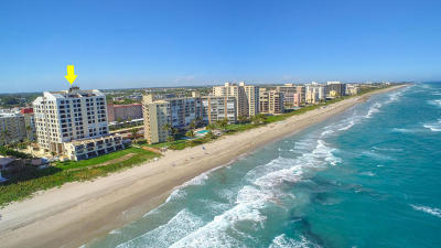 Highland Beach Condo For Sale: 3115 S Ocean Boulevard #1004