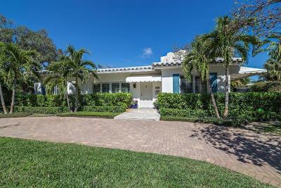 West Palm Beach Single Family Home For Sale: 269 Flamingo Drive