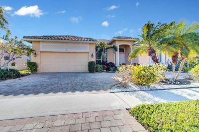 Lake Worth Single Family Home For Sale: 9164 Caserta Street
