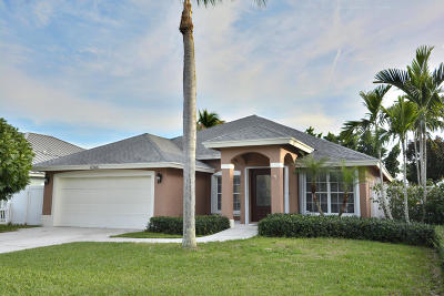 Jupiter Single Family Home For Sale: 6246 Leslie Street