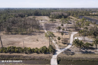 Palm Beach County Residential Lots & Land For Sale: 1529 B Road