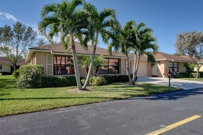 Boynton Beach Single Family Home For Sale: 4380 Cedar Tree Place #A