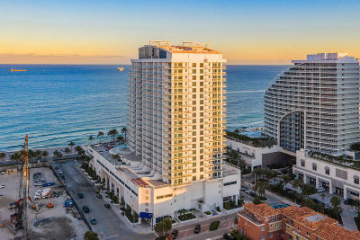 Fort Lauderdale Condo For Sale: 505 Fort Lauderdale Beach Boulevard #717