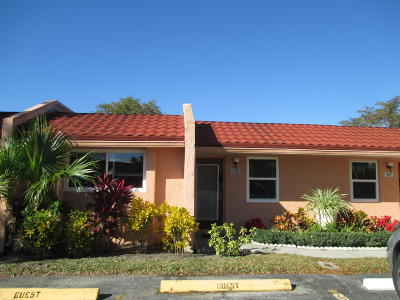 West Palm Beach Single Family Home For Sale: 305 Lake Evelyn Drive