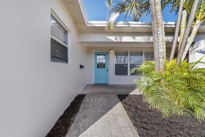 Boynton Beach Single Family Home Contingent: 701 SE 1st Street