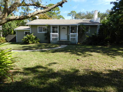 Fort Pierce Single Family Home For Sale: 5804 Sunset Boulevard