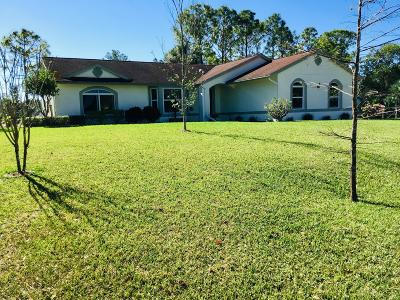Loxahatchee Single Family Home For Sale: 15324 73rd Street