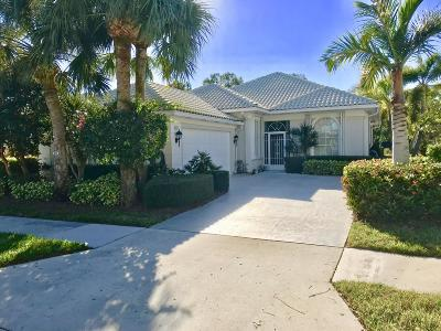 Hobe Sound Single Family Home For Sale: 8037 SE Double Tree Drive