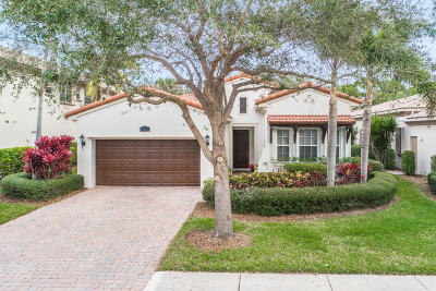 Palm Beach Gardens FL Single Family Home For Sale: $429,000