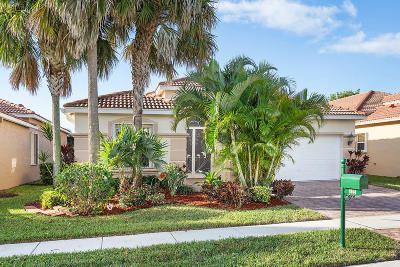 Lake Worth Single Family Home For Sale: 8164 Alberti Drive