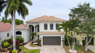 Boca Raton Single Family Home For Sale: 9863 Palma Vista Way