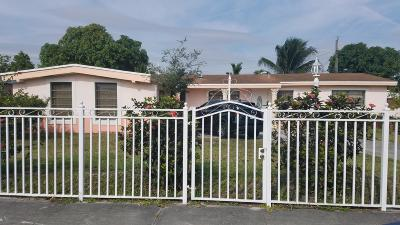 Miami Single Family Home For Sale: 2035 NW 192nd Terrace