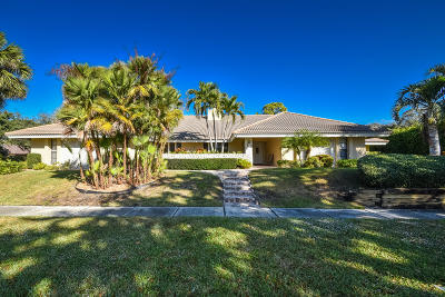 Boca Raton Single Family Home For Sale: 3195 Equestrian Drive