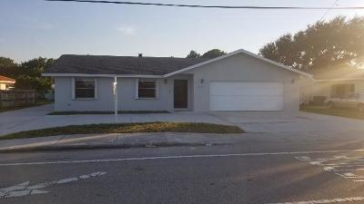 Boynton Beach Single Family Home For Sale: 1212 Old Boynton Road