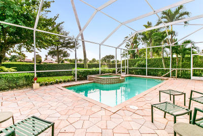 Palm Beach Gardens FL Single Family Home For Sale: $459,000